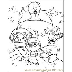 Chicken Little 11 Free Coloring Page for Kids