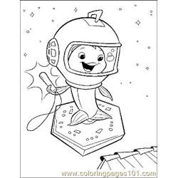 Chicken Little 16 Free Coloring Page for Kids