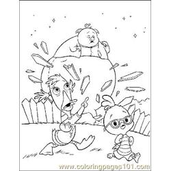 Chicken Little 17 Free Coloring Page for Kids