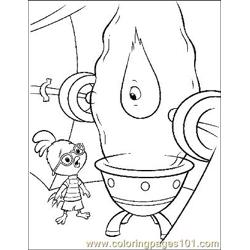 Chicken Little 25 Free Coloring Page for Kids