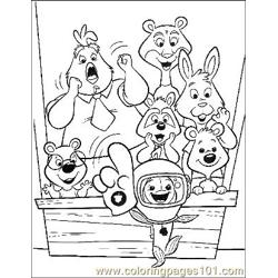 Chicken Little 26 Free Coloring Page for Kids