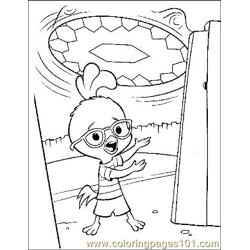 Chicken Little 2 Free Coloring Page for Kids