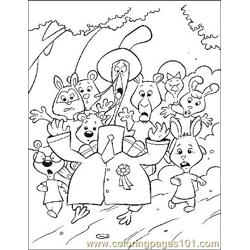 Chicken Little 3 Free Coloring Page for Kids