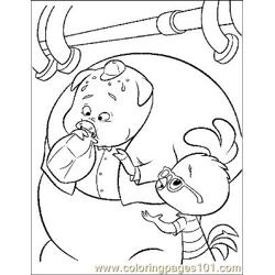 Chicken Little 7 coloring page