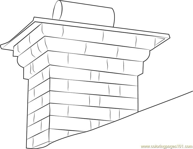 Chimney Shutterstock Coloring Page