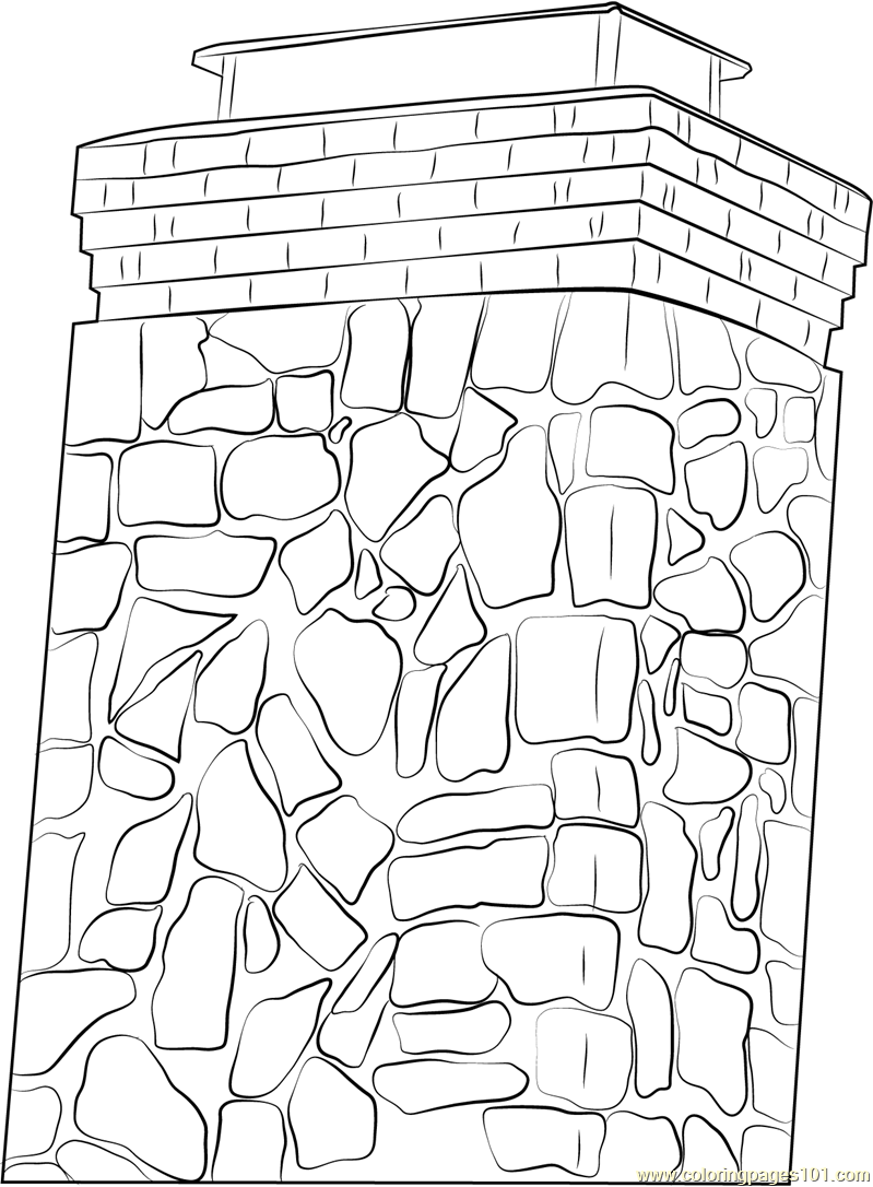 Chimney Sweep Coloring Page Free Chimney Coloring Pages