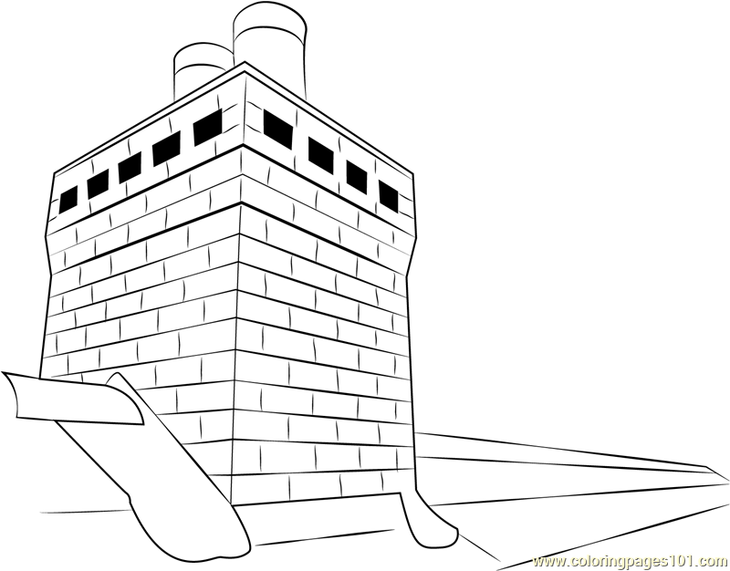 Custom Built Chimneys Coloring Page