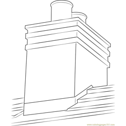Kemenyes Chimney coloring page