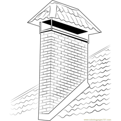 Milwaukee Chimney coloring page