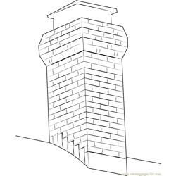 Orig Chimney coloring page