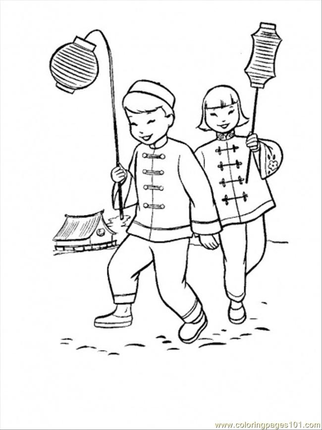 As Eve In China Coloring Page Coloring Page