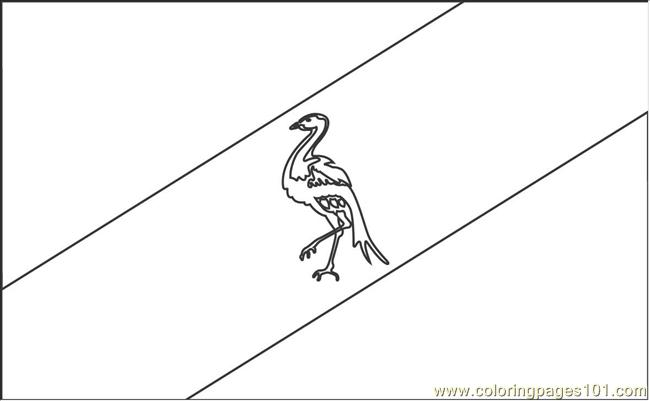 Ciskei Flag Coloring Pages Coloring Page