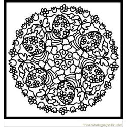 Ndala Coloring Pages Easter 4
