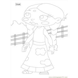 Chota Bheem Coloring Pages 10