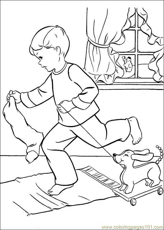 Christmas 217 Coloring Page