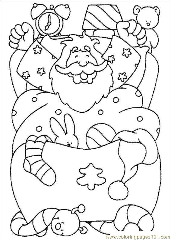 Christmas 38 Coloring Page