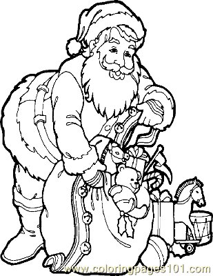 Christmas 58 Coloring Page