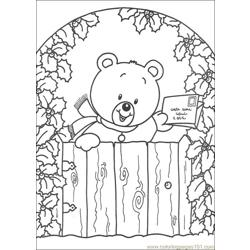 Christmas 49 Free Coloring Page for Kids