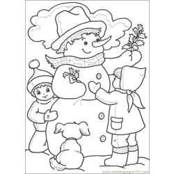 Christmas 50 Free Coloring Page for Kids