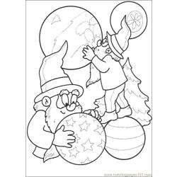 Christmas 51 Free Coloring Page for Kids