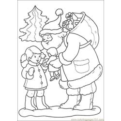 Christmas 52 Free Coloring Page for Kids