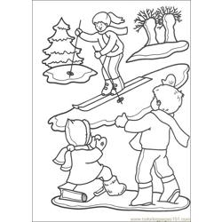 Christmas 53 Free Coloring Page for Kids