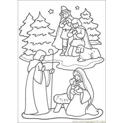 Christmas 54 Free Coloring Page for Kids