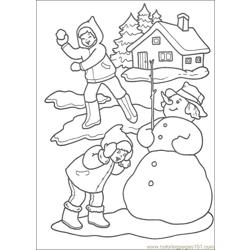 Christmas 55 Free Coloring Page for Kids