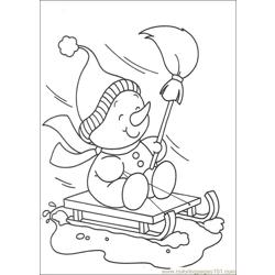 Christmas 56 Free Coloring Page for Kids