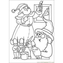 Christmas 60 Free Coloring Page for Kids