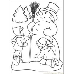 Christmas 61 Free Coloring Page for Kids