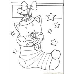 Christmas 62 Free Coloring Page for Kids