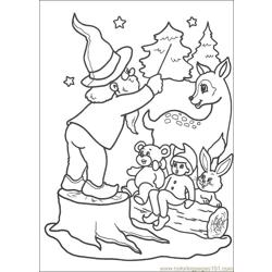 Christmas 64 Free Coloring Page for Kids