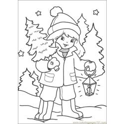 Christmas 65 Free Coloring Page for Kids