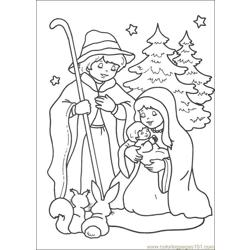 Christmas 66 Free Coloring Page for Kids