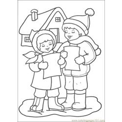 Christmas 67 Free Coloring Page for Kids