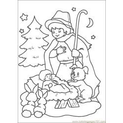 Christmas 68 Free Coloring Page for Kids