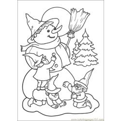 Christmas 69 Free Coloring Page for Kids