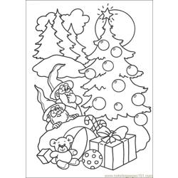 Christmas 70 Free Coloring Page for Kids