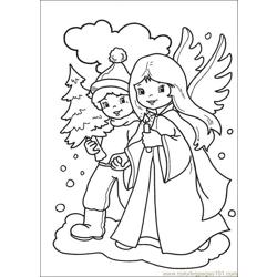 Christmas 71 Free Coloring Page for Kids