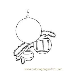 Christmas 88 Free Coloring Page for Kids