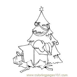 Christmas 89 Free Coloring Page for Kids