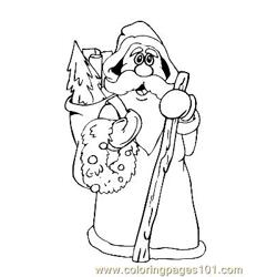 Christmas 90 Free Coloring Page for Kids