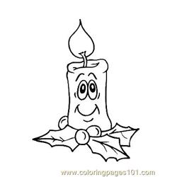 Christmas 94 Free Coloring Page for Kids