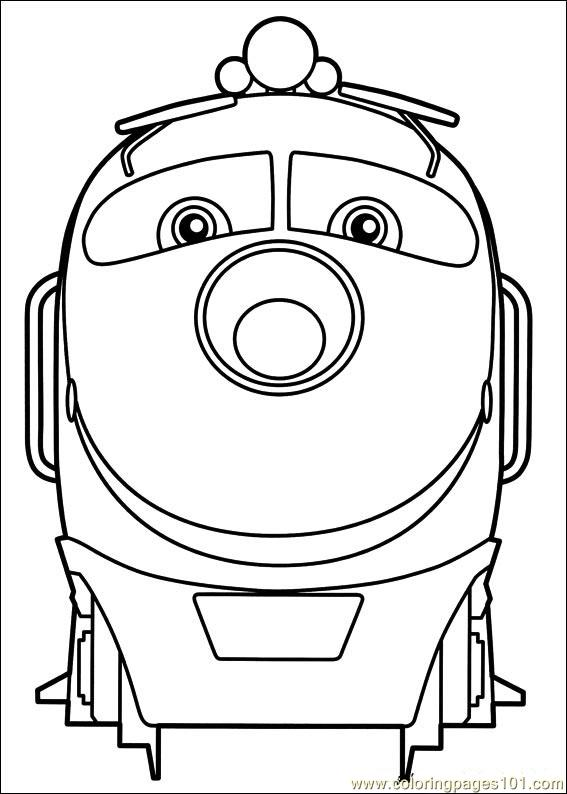 Chuggington 03 Coloring Page