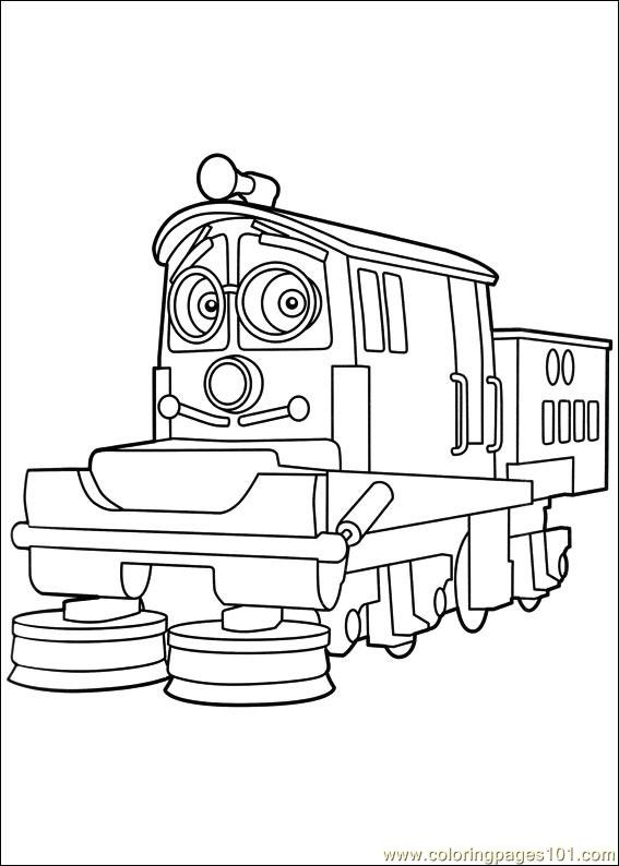 Chuggington 14 Coloring Page