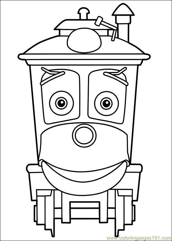 Chuggington 18 Coloring Page