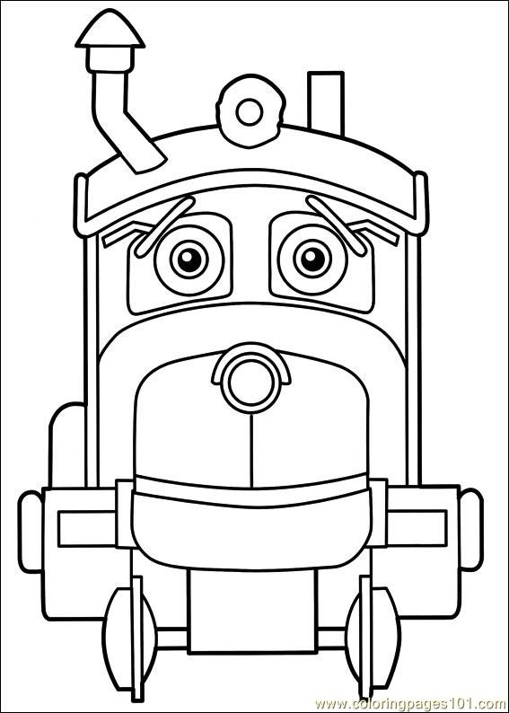 Chuggington 21 Coloring Page Free Chuggington Coloring