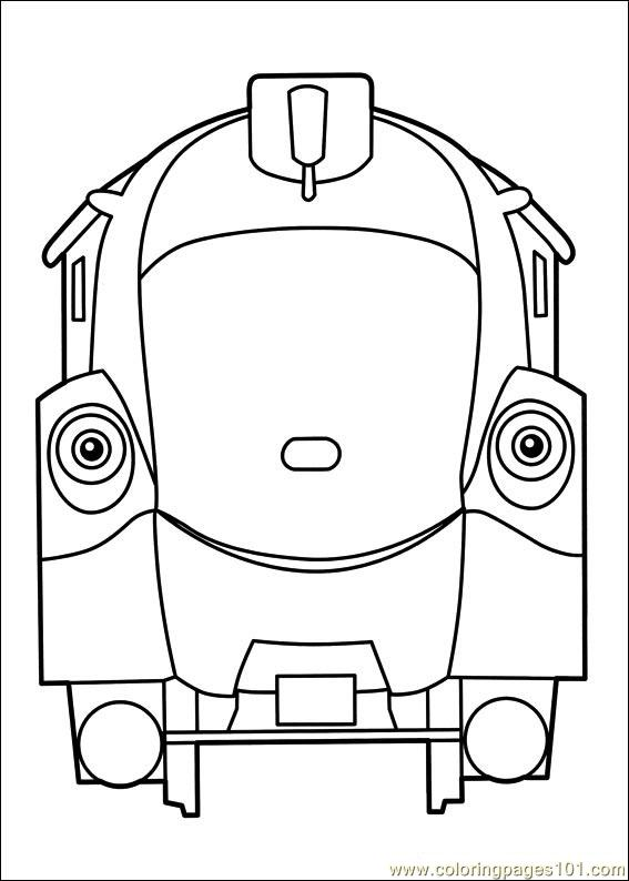 Chuggington 22 Coloring Page