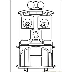 Chuggington 20 Free Coloring Page for Kids